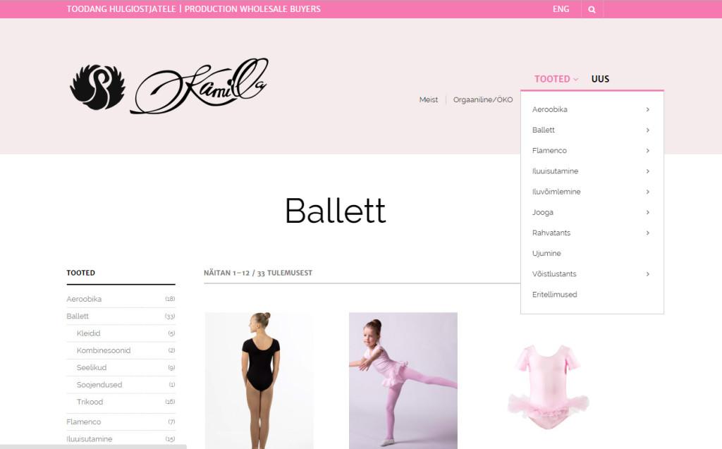Kamilla Dancewear